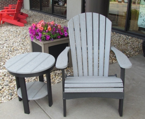 Adirondack Chair and End Table