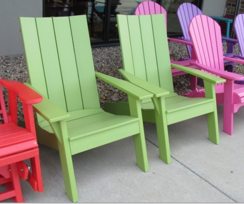 Stationary Cape Cod Adirondack Chairs