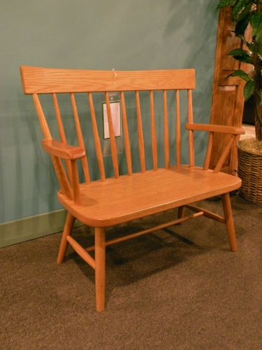 Millwood - Child's Comback Bench with Arms
