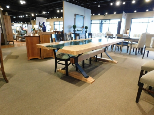 SOLD Sycamore River Table