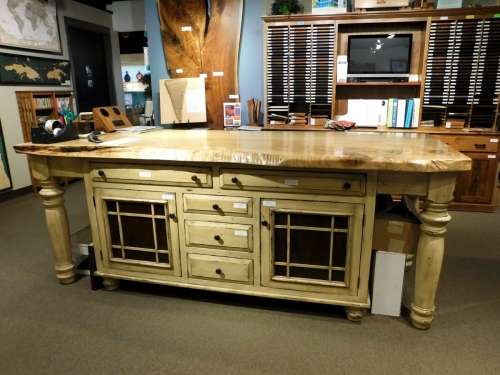 Constance Bay Island #IS-205 with Custom Slab Top