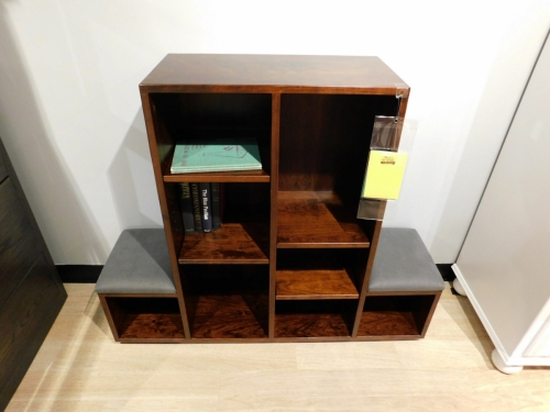 Veraluxe - Child's Cube Bookshelf with Seats