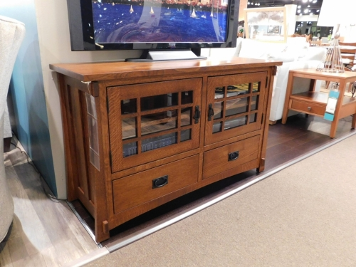Dutch County Mission TV Stand