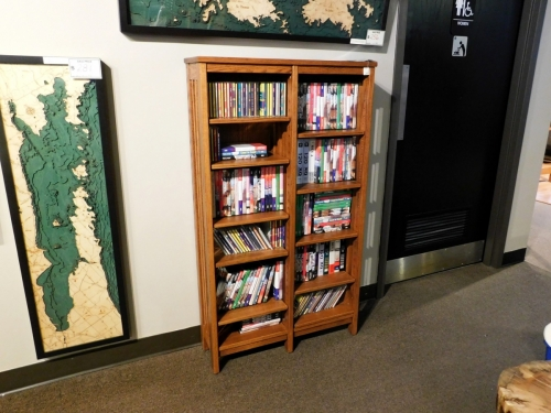 Mission Double Wide CD/DVD Tower