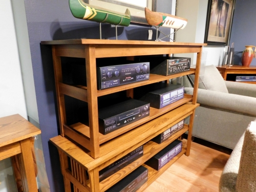 Extended Mission TV Stand