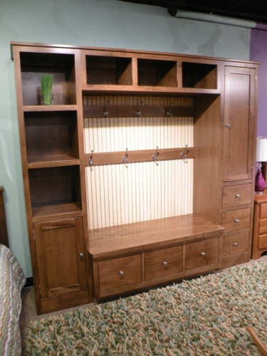 AJ's - Coat Cubby with Storage Compartments