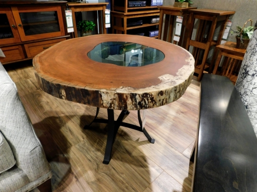 SOLD Large Lake End Table