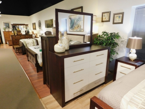 Lakewood Dresser and Mirror