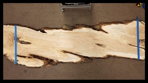 SOLD - Brown Maple River Table