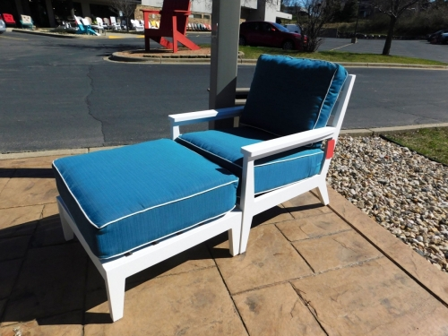 Mayhew Outdoor Club Chair and Ottoman