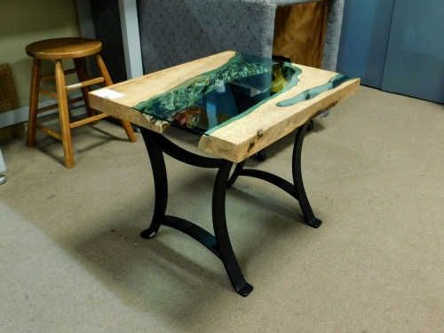 SOLD - River End Table