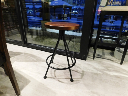 "24"" Rod Stool with 14"" Seat"