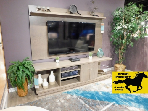 Seneca TV Stand with Wall Panel