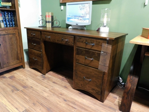 Double Pedestal Shaker Desk