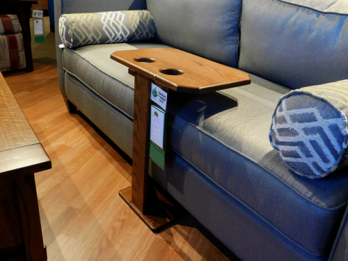Large Sofa Server with Cupholders