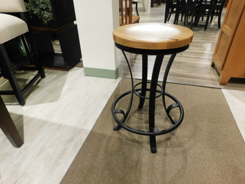 "24"" Stilt Swivel Stool"
