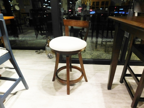Turnstone Swivel Stool with Back